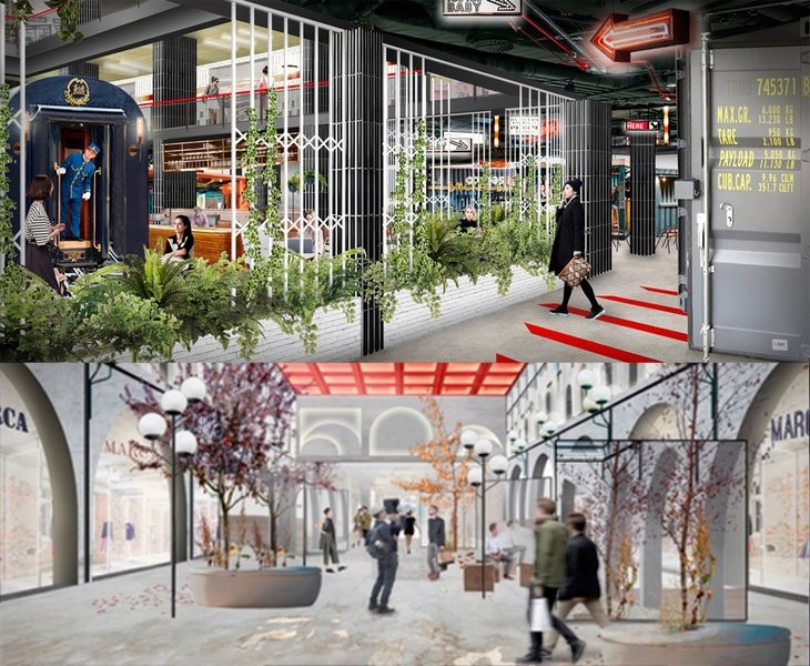 Proyecto de reforma del centro comercial de Arroyosur