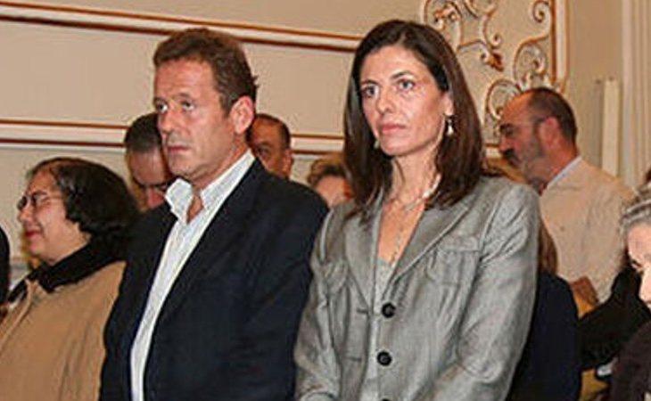 Mercedes Rajoy, en un acto de la Diputación de Pontevedra de 2014