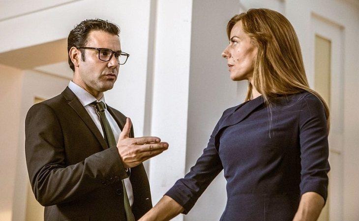 Miquel Fernández y Miryam Gallego en 'Secretos d estado'