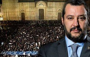 """El mar de """"sardinas"""" en Italia que busca deshacerse del populismo de Salvini"""