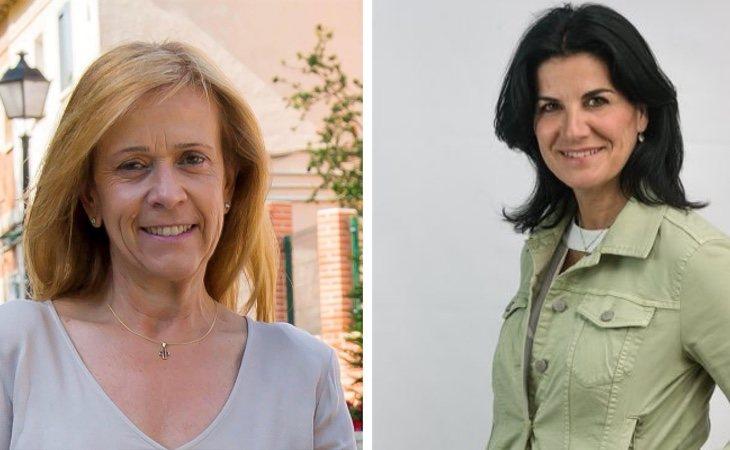 Pilar Martinez (PP, izq) y María Ruiz (VOX, dcha) mantienen una profunda enemistad