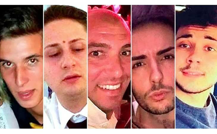 Los cinco condenados por la violación grupal a la turista británica