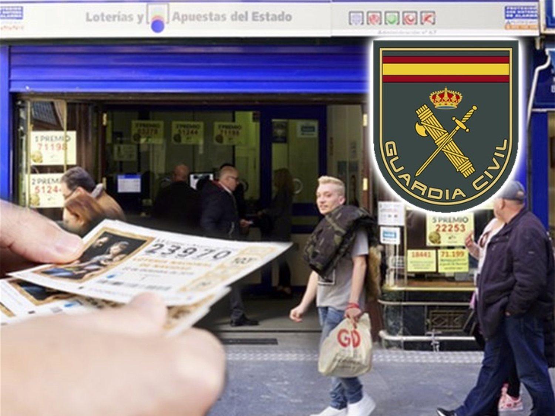 La Guardia Civil alerta sobre este décimo de lotería de cara al sorteo de Navidad