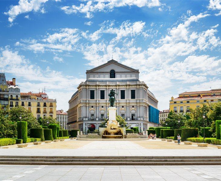 El Teatro Real y la Plaza de Oriente en Madrid serán el epicentro de la celebración de la primera edición de los Premios Odeón