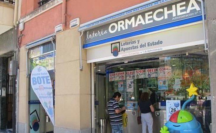 Lotería Ormaechea