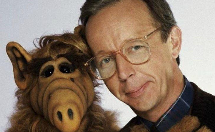El actor Max Wright y Alf