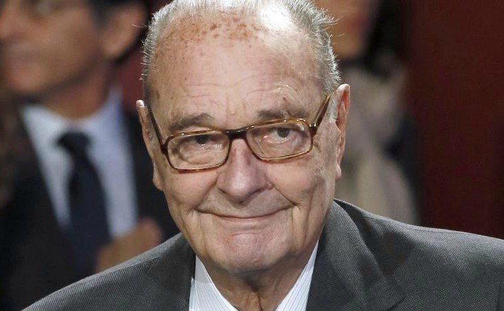 El expresidente francés Jacques Chirac