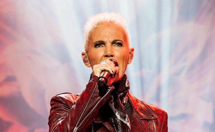 Marie Fredriksson durante una actuación