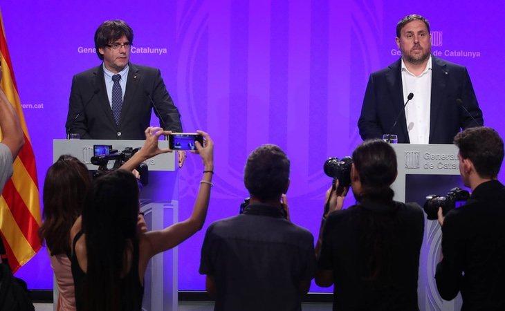 Junqueras y Puigdemont han visto su inmunidad reconocida tras ser elegidos como europarlamentarios