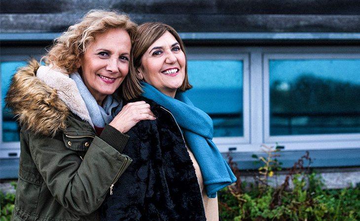 Elena Irureta y Ana Gabarain en 'Patria'
