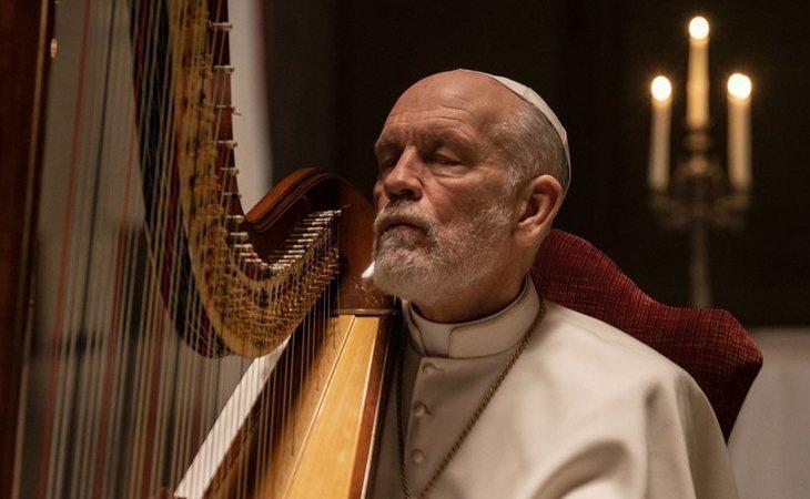 John Malkovich en 'The New Pope'