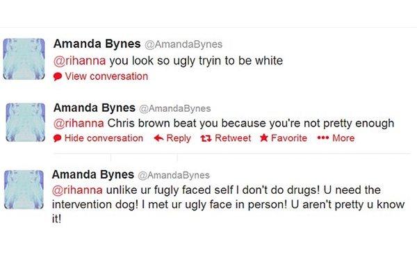 Varios de los comentarios de Amanda Bynes que la han situado en el ojo del huracán