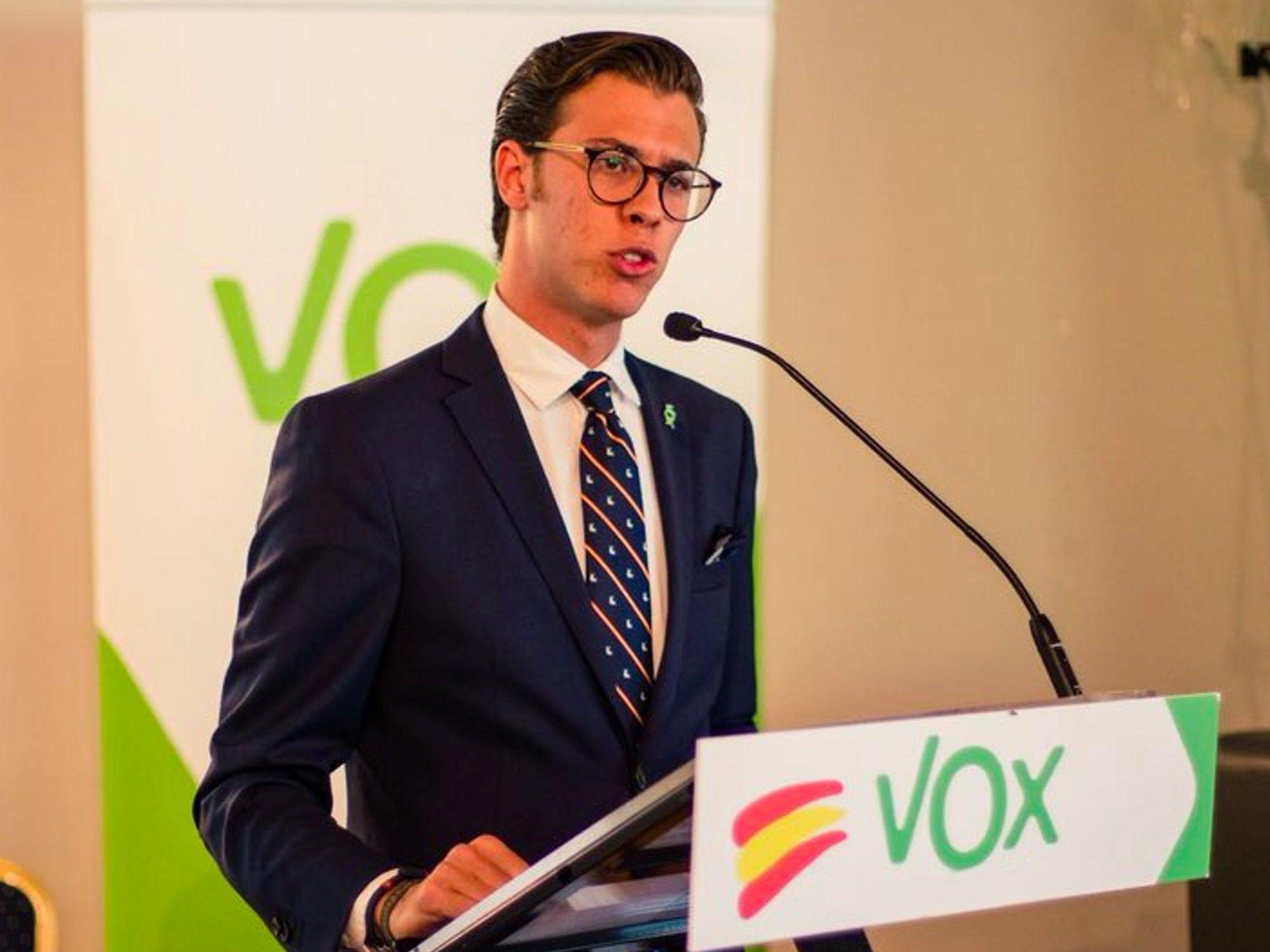 """El líder de VOX en Girona: """"El feminismo es malo, hace mujeres arrogantes, desconsideradas, las afea"""""""