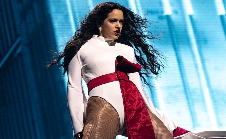 Rosalía cuela su 'Con Altura' como quinta canción más oída