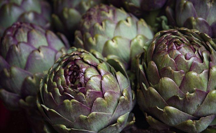 Las alcachofas son los vegetales con más antioxidantes