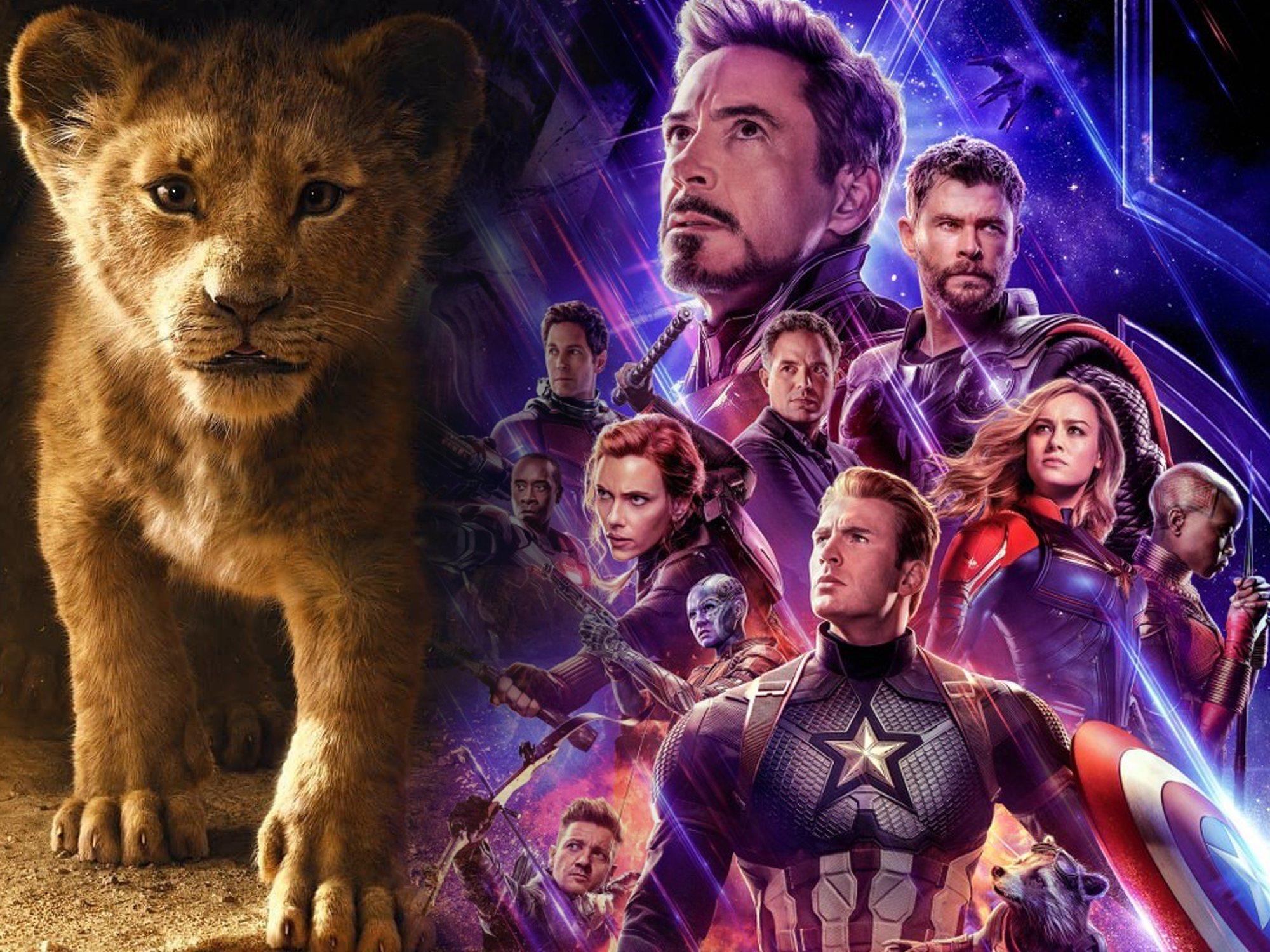 Las 10 películas más taquilleras de 2019