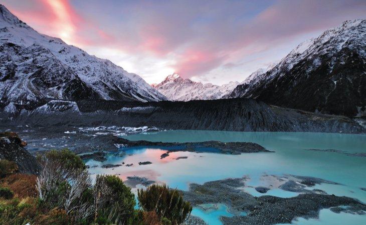 Nueva Zelanda tiene paisajes impresionantes