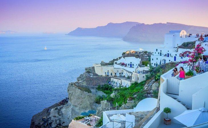 El recorrido griego se divide entre la península y sus islas