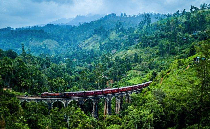 Sri Lanka tiene uno de los trayectos más bonitos en tren