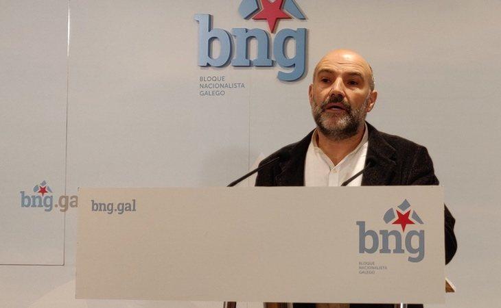 Néstor Rego, diputado del BNG