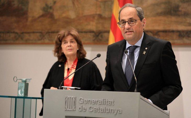 La JEC ha inhabilitado a Quim Torra para seguir como presidente de la Generalitat de Cataluña