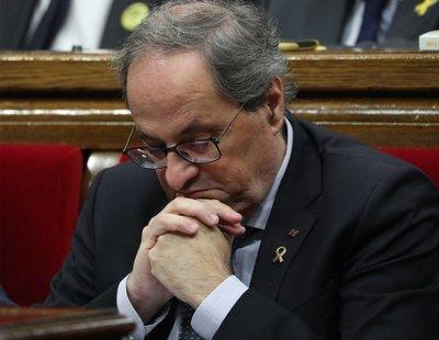 La Junta Electoral inhabilita a Quim Torra como president tras su condena por desobediencia