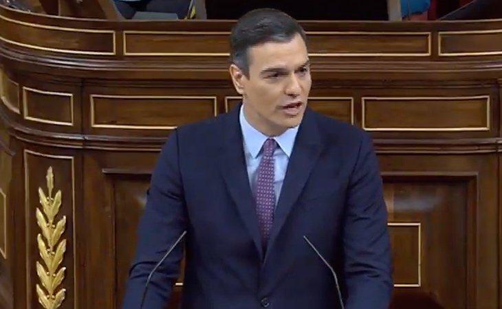 Pedro Sánchez: 'Los españoles situaron al PSOE en noviembre como primera fuerza, muy por delante de cualquier otra fuerza'