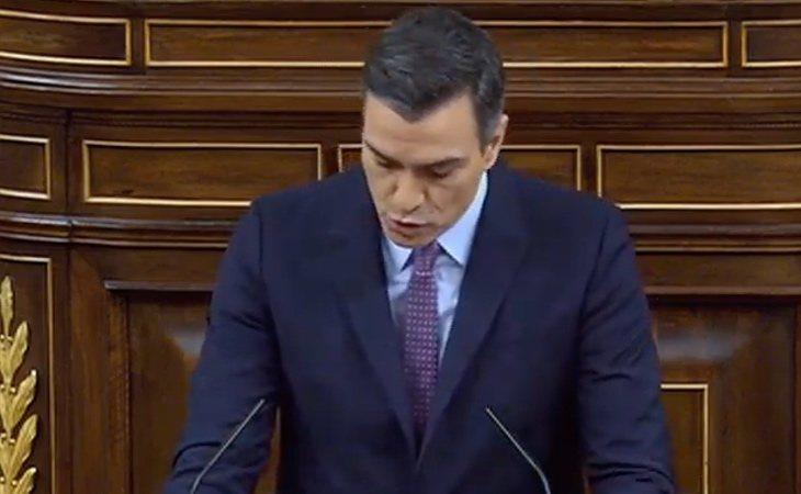 Pedro Sánchez: 'Quiero mostrar mi pesar por la actitud de la derecha a negarse a solucionar la gobernabilidad'