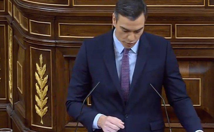 Sánchez recalca que el acuerdo entre PSOE y Unidas Podemos está abierto a la 'colaboración de otras fuerzas parlamentarias'