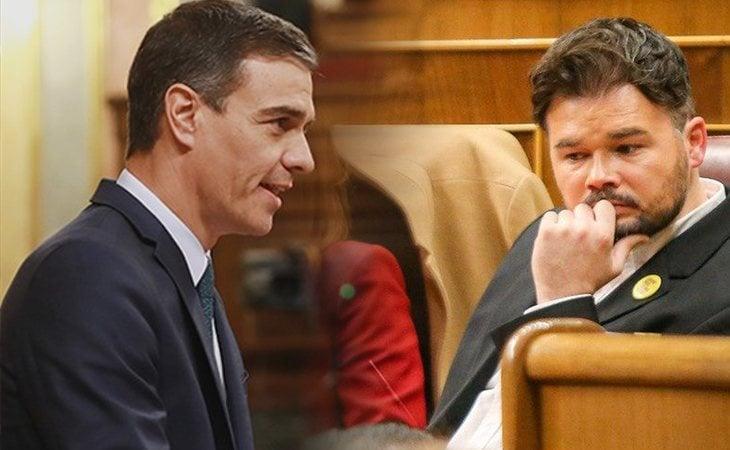 Pedro Sánchez anuncia la mesa bilateral entre el Gobierno central y el catalán que debatirá 'dentro del marco constitucional'