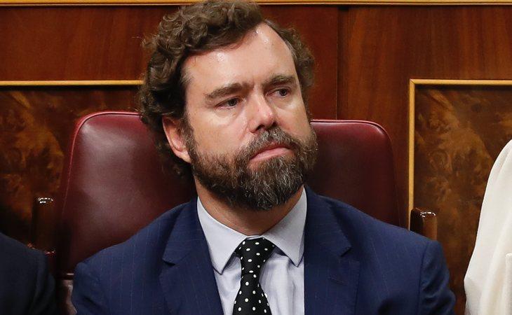 Iván Espinosa de los Monteros (VOX): 'Sánchez ha traicionado todos los principios, ha traicionado todas sus promesas. Es un candidato que es casi ...