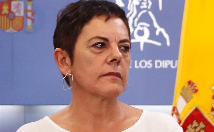 Mertxe Aizpurua (EH Bildu): 'Estamos asistiendo a una operación de la derecha para descarrilar el pacto de PSOE y Podemos. Y haremos todo lo que ...