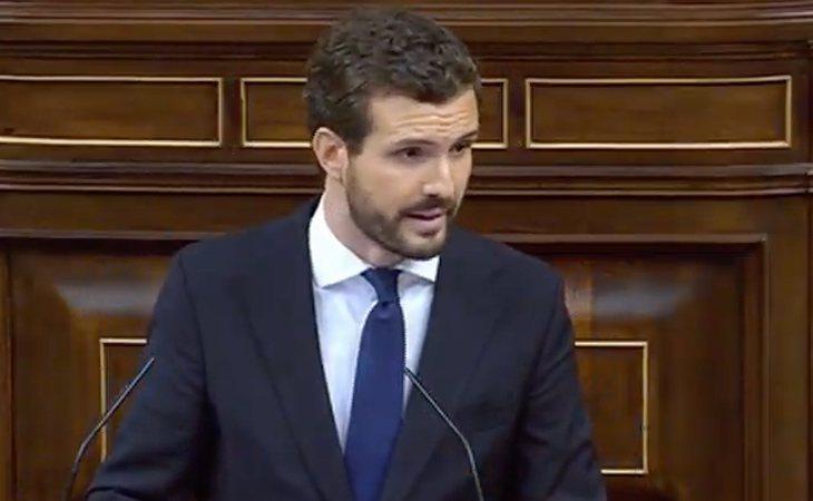 Pablo Casado (PP) comienza con chascarrillo: 'Señor Sánchez, ¿usted duerme bien?