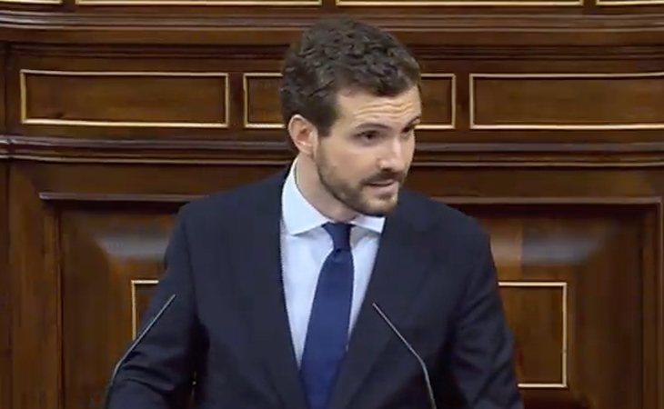 Pablo Casado pide a Pedro Sánchez que envíe el requerimiento del 155 a Quim Torra tras la resolución de la Junta Electoral Central