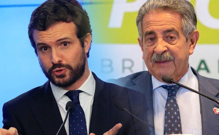 Pablo Casado anuncia que el PSOE rompe el pacto de gobierno en Cantabria con el PRC de Revilla, entonces lo apoyará el PP