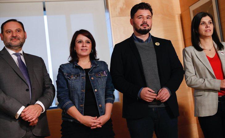 ERC confirma que se abstendrá en la investidura de Pedro Sánchez