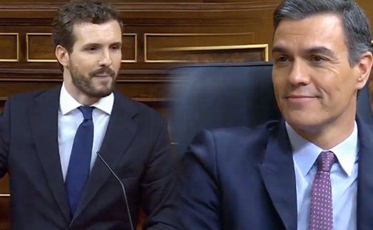 Pablo Casado (PP): 'Señor Sánchez, no pretenda ser investido presidente con los peores enemigos de la nación española'