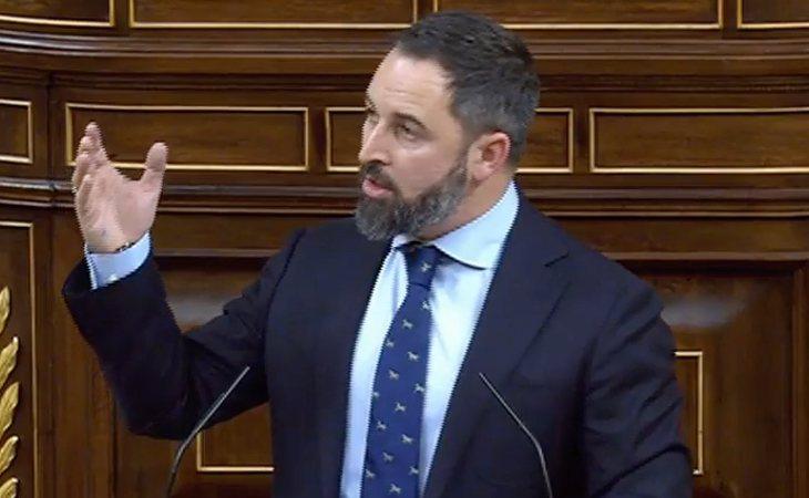 Santiago Abascal (¡oh, sorpresa!) anuncia que VOX votará NO a lo que ha definido como 'investidura clandestina, traición navideña y emboscada a ...