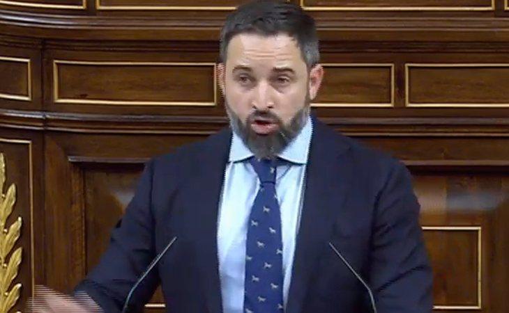 Santiago Abascal vuelve a cuestionar la Ley de Violencia de Género a la que tilda de 'inconstitucional'