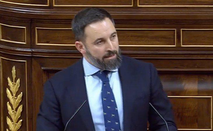 Santiago Abascal (VOX): 'No podemos considerar legítimo un Gobierno con tan clara vocación totalitaria. Es una devaluación de nuestras ...