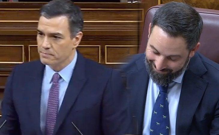 Pedro Sánchez, a VOX: 'Ustedes son fuertes y crueles con los débiles pero sois sumisos con los poderosos'