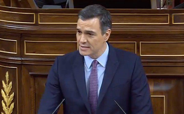 Pedro Sánchez: 'Violencia de Género, no intrafamiliar, señor Abascal'