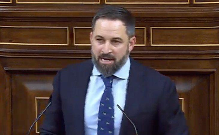 Santiago Abascal (VOX) defiende la prisión permanente NO revisable