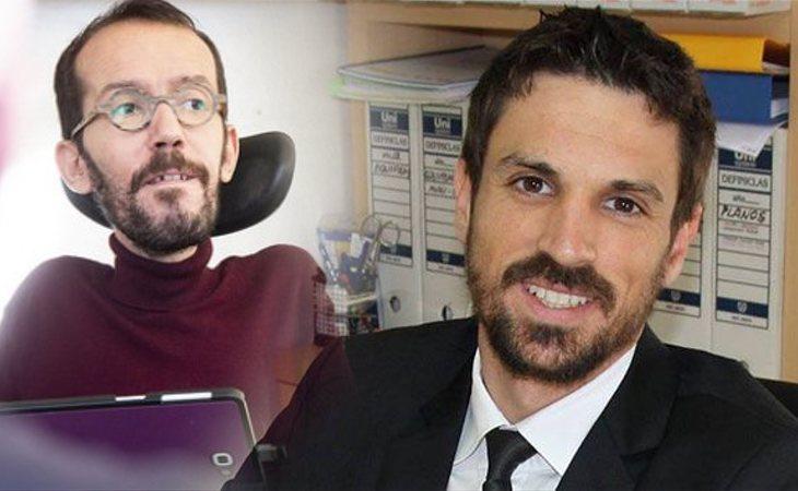 Dante Pérez Berenguer, dirigente del PP, se burla de Pablo Echenique por su discapacidad: '¿Cómo vas a subir a la tribuna?'