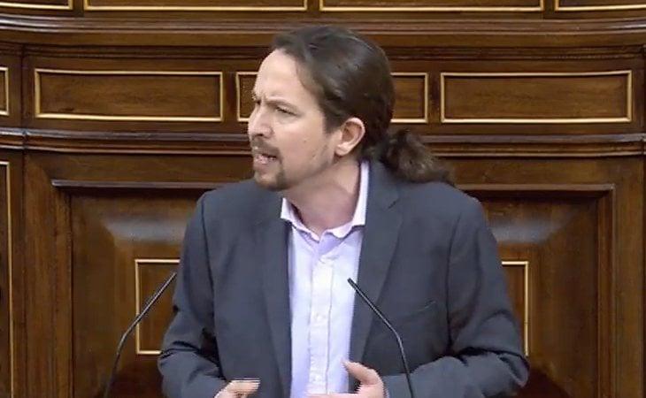 Pablo Iglesias (UP) 'Tenemos la responsabilidad de convertir el sí se puede en políticas concretas'