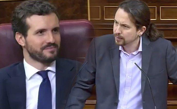 El consejo de Pablo Iglesias (PP) a Pablo Casado (PP): 'Más Pérez Galdós y menos Pérez Reverte'