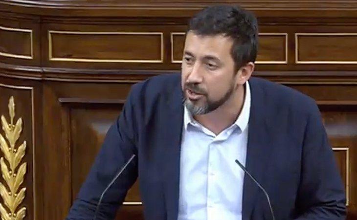 Antonio Gómez-Reino (Galicia en Común): 'El conjunto de la sociedad democrática se merece algo más que sus exabruptos, insultos y amenazas. ...