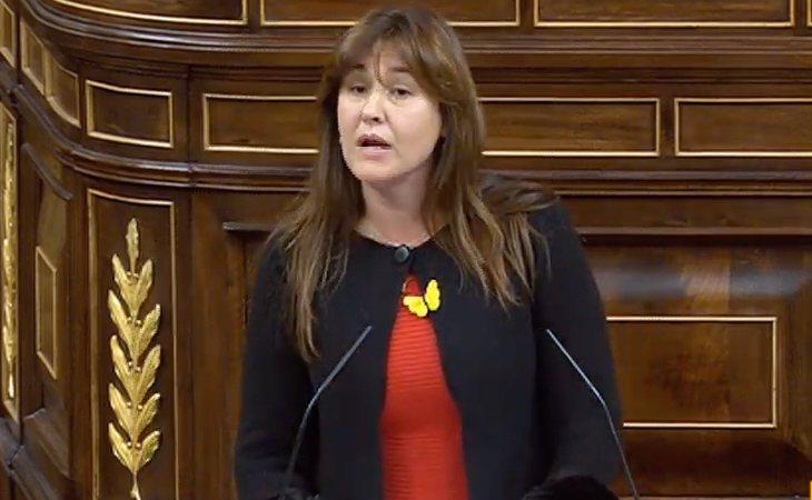Laura Borràs (JxCat): 'Oriol Junqueras lleva 16 días encarcelado ilegalmente'