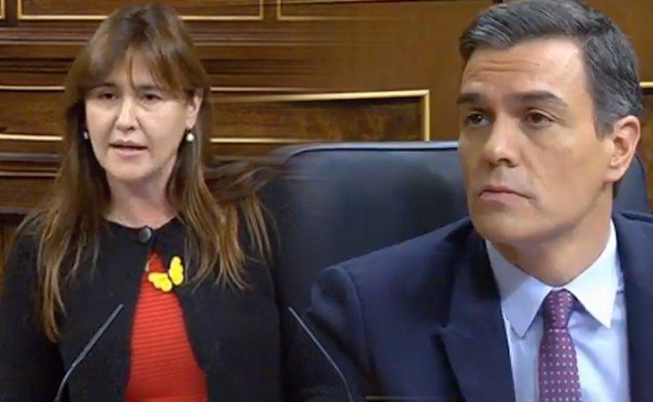 Laura Borràs (JxCat) a Pedro Sánchez: '¿Qué credibilidad le podemos dar a su repentina posición?'