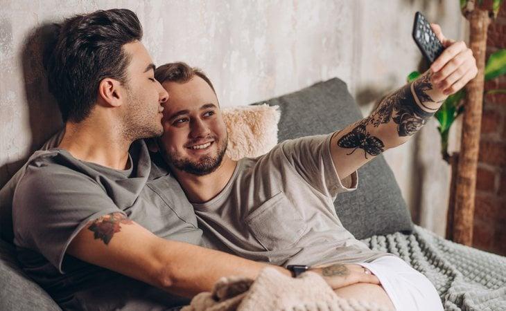 La salud de una relación se puede medir en las fotos que nos hacemos